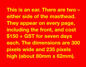 2523 advert shape ear