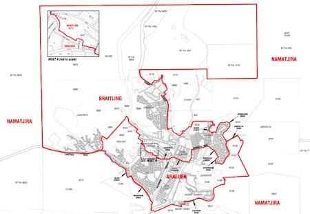 p2345 electorates