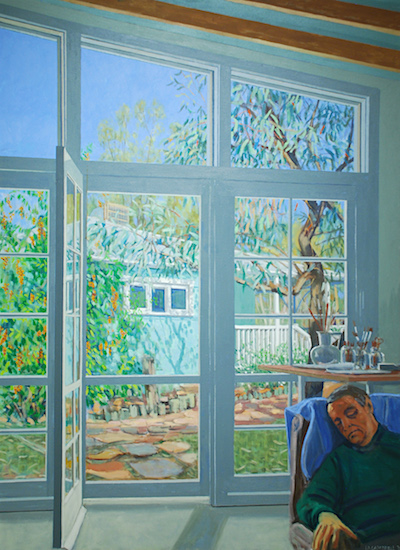 p2411 Iain Campbell Artist Dreaming 2001