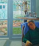 p2411 Iain Campbell Artist Dreaming crop SM