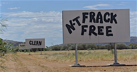 p2418 fracking graffiti OK