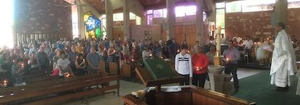 p2425 Easter Catholic mass SM