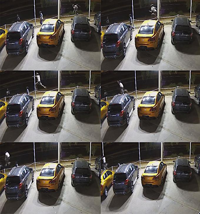 2458 vandalism Car to Car