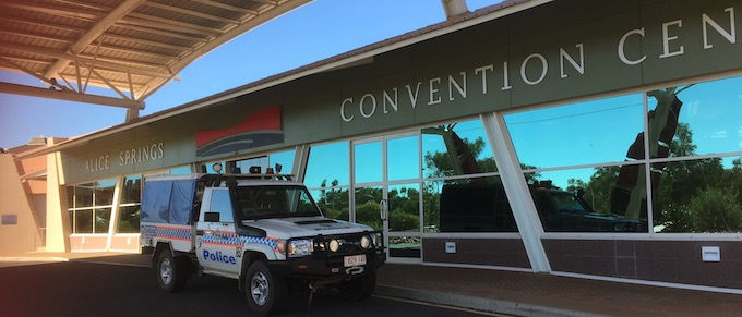 2465 convention centre, cop car OK