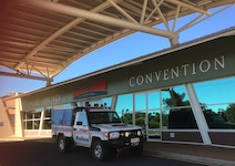 2465 convention centre, cop car SM