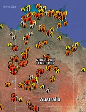 2482 fire hotspots