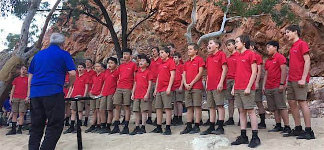 p2491 Desert Song in gorge boys 660