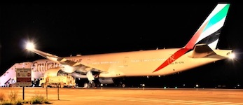 2499 Emirates jet SM