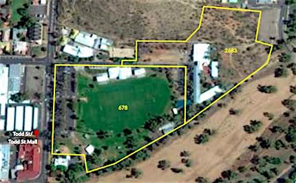 p2499e Anzac Oval aerial