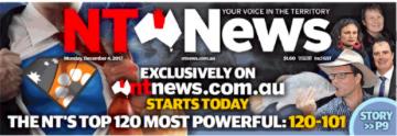 NT News masthead 1