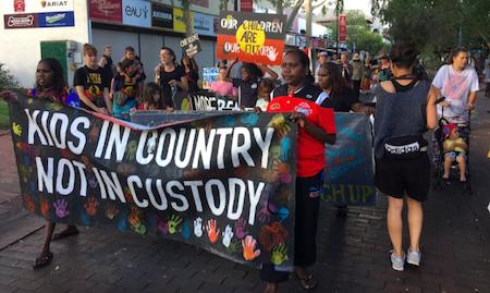 2518 youth custody demo OK