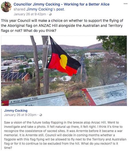 p2508 Council flag Cocking 450