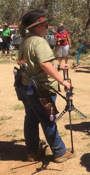 2524 bow hunting Crockett