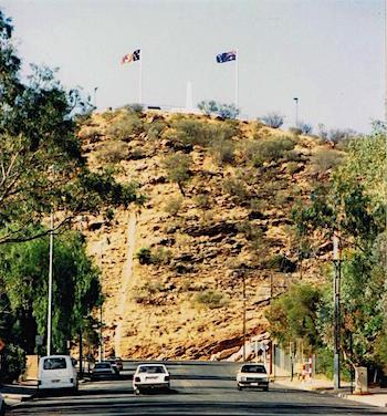 p2516 Nelson flag 3 flagpoles