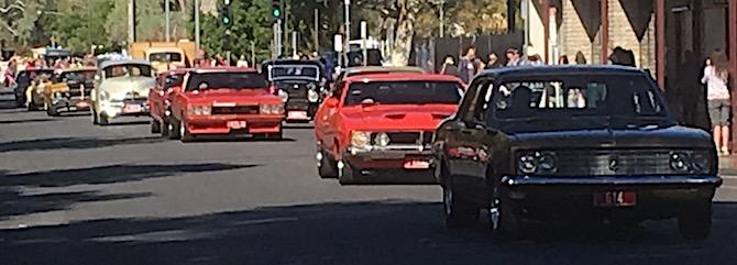 2536 Bangtail cars