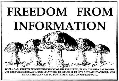 2558 Freedom from information OK
