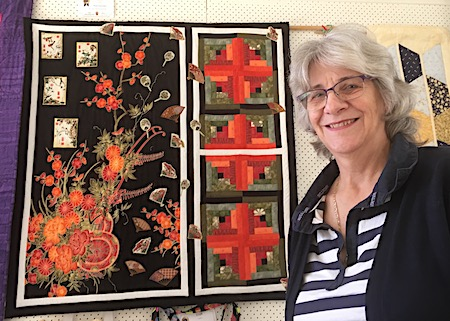 2557 show quilter woman