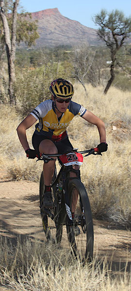 2573 Emma Shearer mountain bike OK