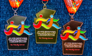 2588 Masters Games medals OK