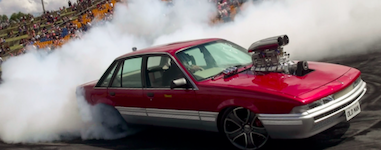 2591 Red Centre NTAS burnout SM