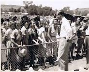 p2571 Prince Phillip at ANZAC Oval SM