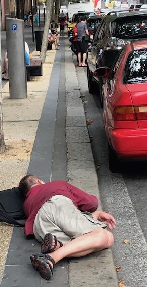 2601 man in gutter in Sydney 2 OK