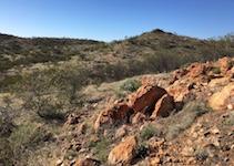 2606 tungsten outcrop SM
