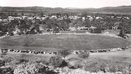 2611 Anzac Oval Aussie Rules circa 1952 OK