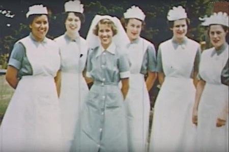 2617 Rona Glynn, far left, with colleagues OK