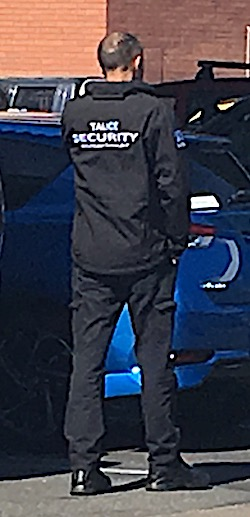 2635 Talice security guard OK
