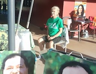 2638 Greens campaign worker SM