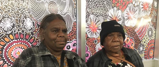 2642 Coles Janet Golder Kngwarreye & mother Margaret OK