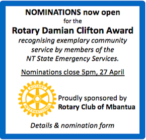 2724 Rotary award