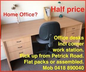 2738 Office furniture desks